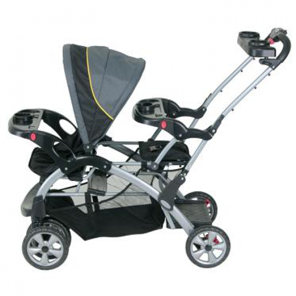 BabyQuip Baby Equipment Rentals - Sit N' Stand Double Stroller - Jennifer Daza - Martinez, CA