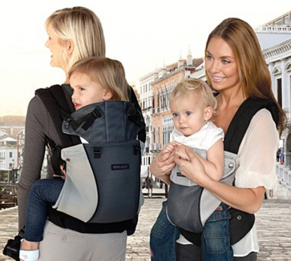 BabyQuip Baby Equipment Rentals - Airflow Ergonomic Baby Carrier - Sandra Lazarte - Bethesda, Maryland
