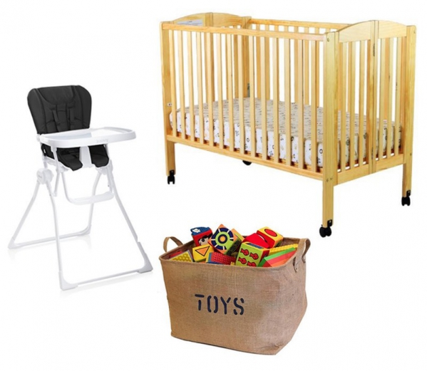 BabyQuip - Baby Equipment Rentals - Package: Eat, Sleep and Play - Package: Eat, Sleep and Play -