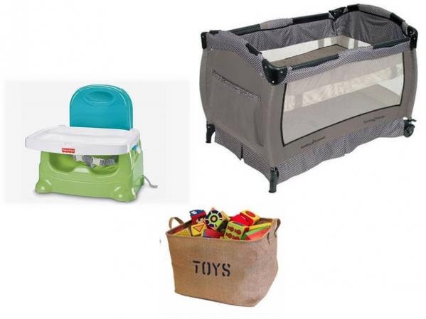 BabyQuip - Baby Equipment Rentals - Package: Eat, Sleep and Play Light - Package: Eat, Sleep and Play Light -