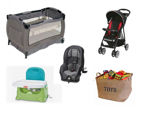 BabyQuip Baby Equipment Rentals - Package: Traveling Tot Light - Sandra Lazarte - Bethesda, Maryland