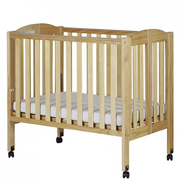 BabyQuip - Baby Equipment Rentals - Crib - Wood - Crib - Wood -