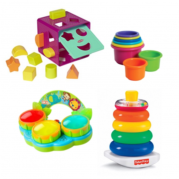 BabyQuip - Baby Equipment Rentals - Package- Toys for 6+ months - Package- Toys for 6+ months -