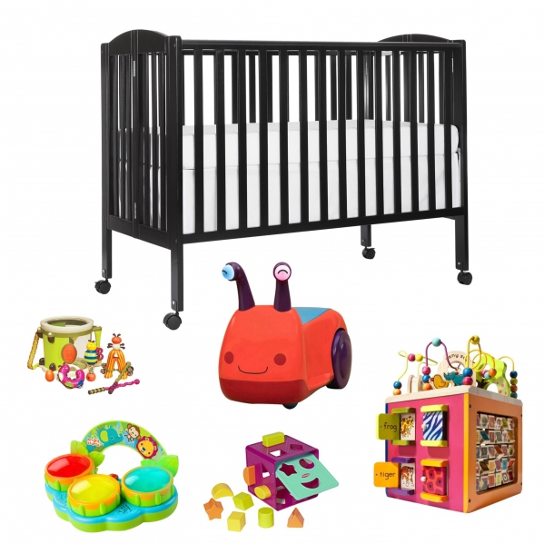BabyQuip - Baby Equipment Rentals - Package- Play, Sleep, Repeat - Package- Play, Sleep, Repeat -