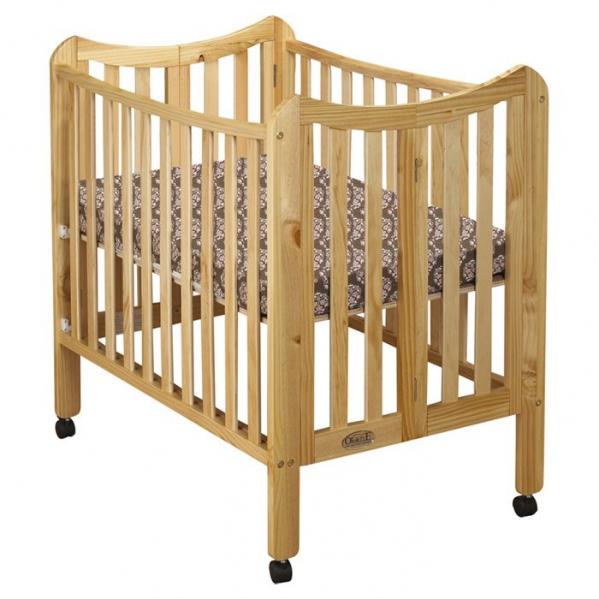 BabyQuip - Baby Equipment Rentals - Mini Crib w/Mattress and Linens - Mini Crib w/Mattress and Linens -
