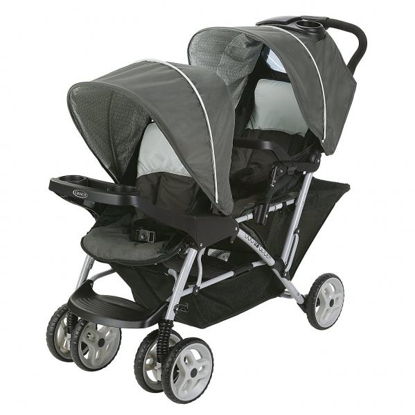 BabyQuip - Baby Equipment Rentals - Stroller: Graco DuoGlider Double Stroller - Stroller: Graco DuoGlider Double Stroller -