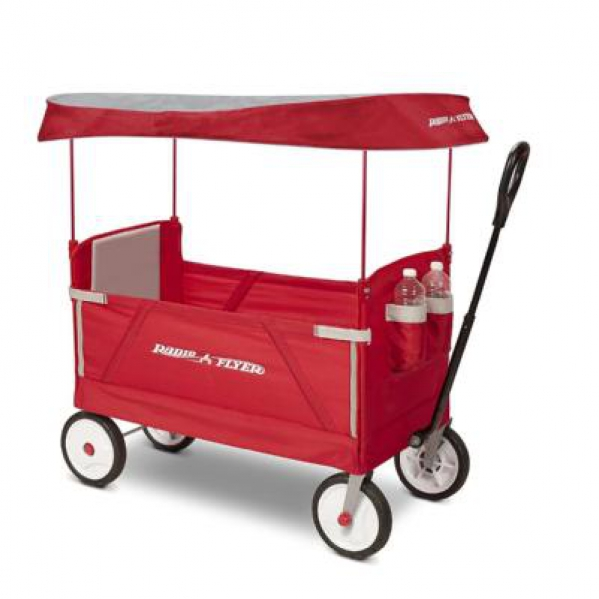 BabyQuip - Baby Equipment Rentals - Wagon with Canopy - Wagon with Canopy -