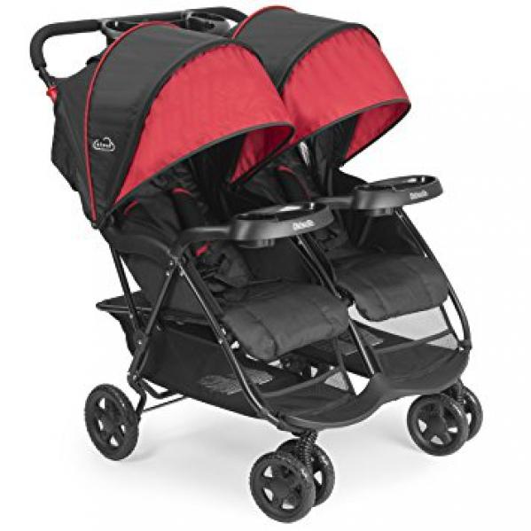 BabyQuip - Baby Equipment Rentals - Stroller: Kolcraft Cloud Plus Double Stroller - Stroller: Kolcraft Cloud Plus Double Stroller -