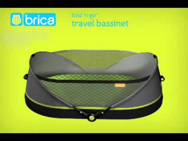 BabyQuip - Baby Equipment Rentals - Brica bassinette - Brica bassinette -