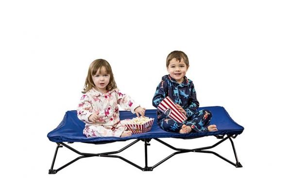 BabyQuip - Baby Equipment Rentals - Portable Toddler Cot with linens - Portable Toddler Cot with linens -