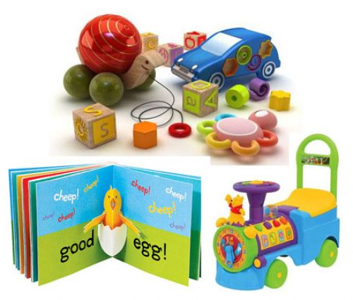BabyQuip Baby Equipment Rentals - Package:  Keep it Exciting (Toys/Books/Ride On) - Lisa Holmes - Cape Cod, Massachusetts