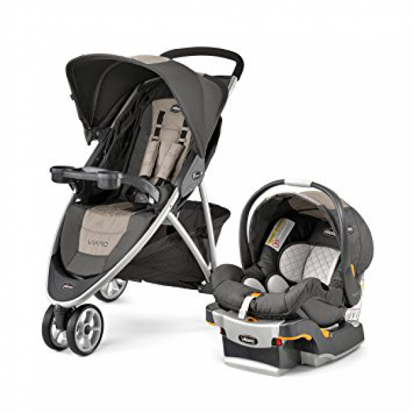 BabyQuip - Baby Equipment Rentals - Stroller:  Chicco Viaro Travel System - Stroller:  Chicco Viaro Travel System -