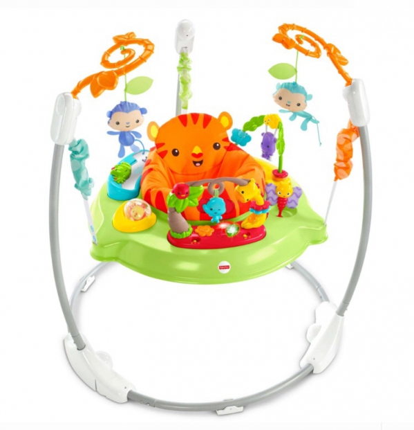 BabyQuip - Baby Equipment Rentals - Fisher-Price Roarin' Rainforest Jumperoo - Fisher-Price Roarin' Rainforest Jumperoo -