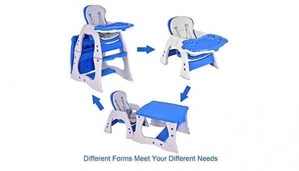 BabyQuip - Baby Equipment Rentals - 3-in-1 high chair - 3-in-1 high chair -