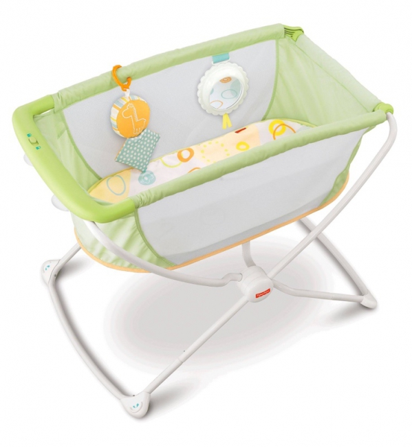 BabyQuip - Baby Equipment Rentals - Fisher-Price Rock 'n Play Portable Bassinet - Fisher-Price Rock 'n Play Portable Bassinet -