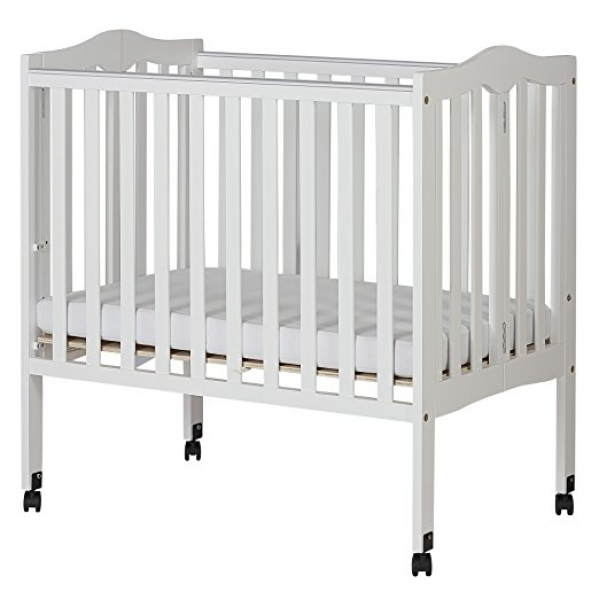BabyQuip - Baby Equipment Rentals - Lightweight Crib with Linens - Lightweight Crib with Linens -