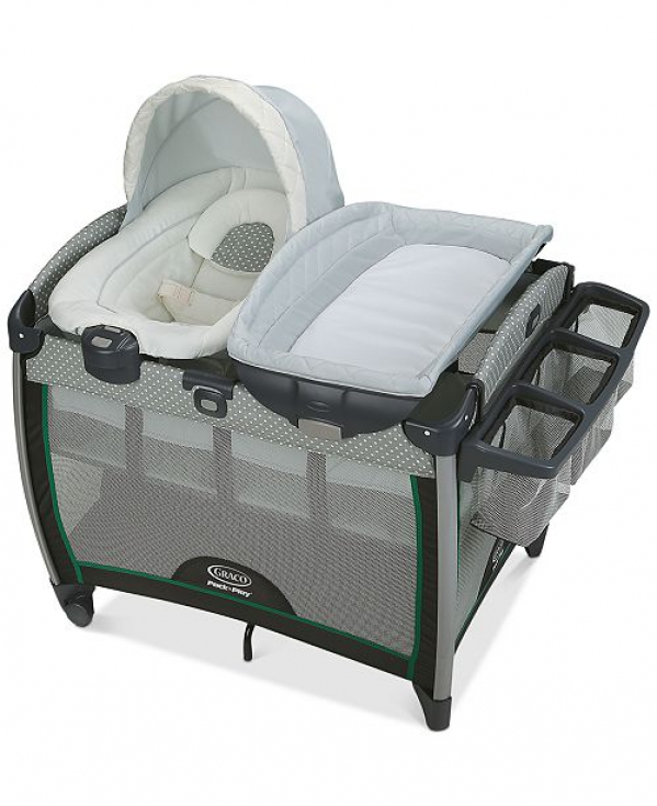 Pack'n Play with Changing Station and Bouncer seat