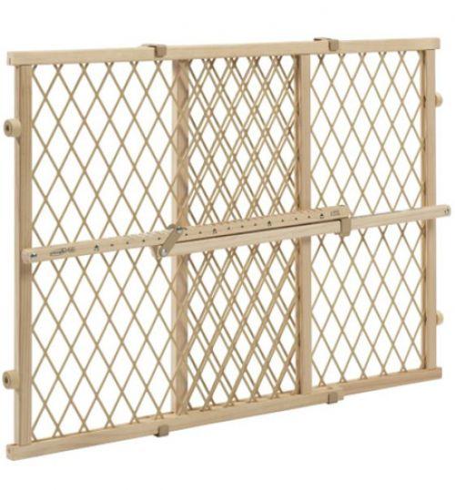 BabyQuip - Baby Equipment Rentals - Gate: Wooden Position and Lock Gate - Gate: Wooden Position and Lock Gate -