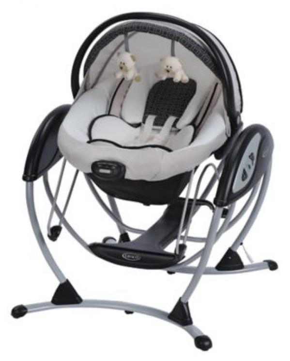 BabyQuip - Baby Equipment Rentals - Gliding Swing Deluxe - Gliding Swing Deluxe -