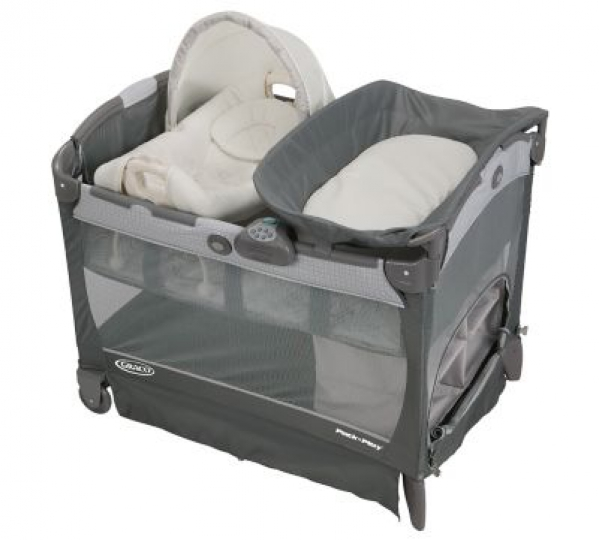 BabyQuip - Baby Equipment Rentals - Pack 'N Play with Bassinet & Changing Table - Pack 'N Play with Bassinet & Changing Table -