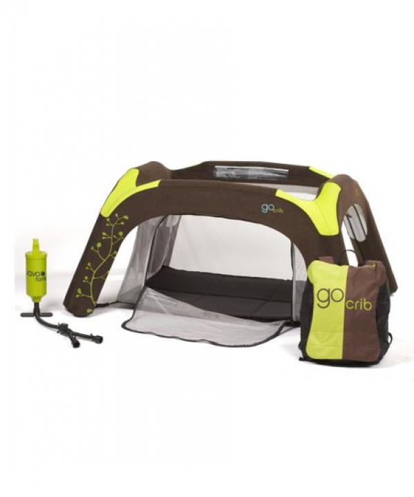 BabyQuip - Baby Equipment Rentals - GoCrib Inflatable Crib/Play Yard - GoCrib Inflatable Crib/Play Yard -
