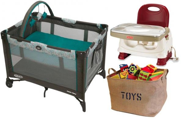 BabyQuip - Baby Equipment Rentals - Eat, Sleep, Play Light Package - Eat, Sleep, Play Light Package -