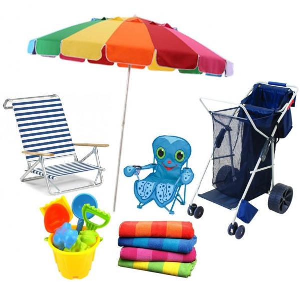 BabyQuip - Baby Equipment Rentals - Beach Vacation Deluxe Package - Beach Vacation Deluxe Package -