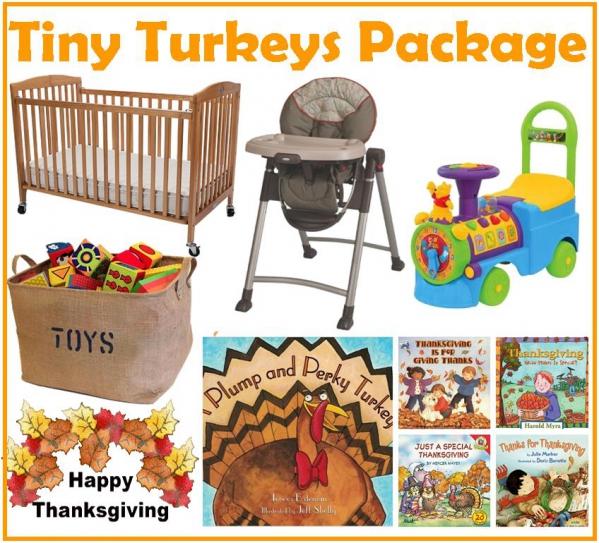BabyQuip - Baby Equipment Rentals - Tiny Turkeys Thanksgiving Package - Tiny Turkeys Thanksgiving Package -