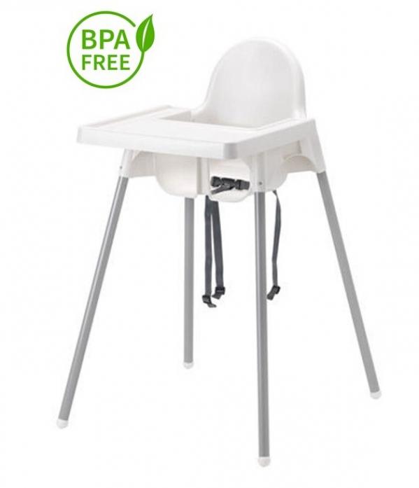 BabyQuip - Baby Equipment Rentals - High Chair: Easy Clean High Chair - High Chair: Easy Clean High Chair -