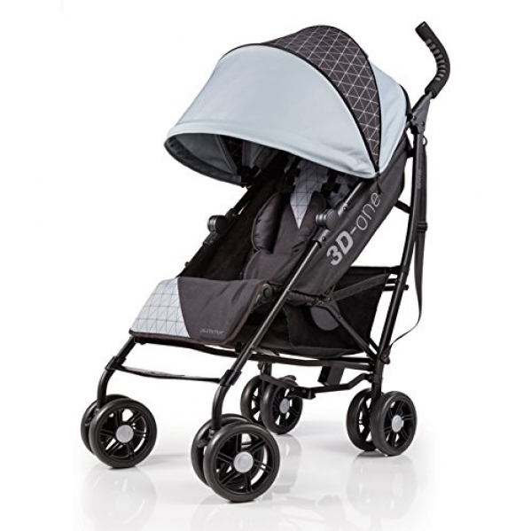 BabyQuip - Baby Equipment Rentals - Summer Infant 3D-One Convenience Stroller - Summer Infant 3D-One Convenience Stroller -