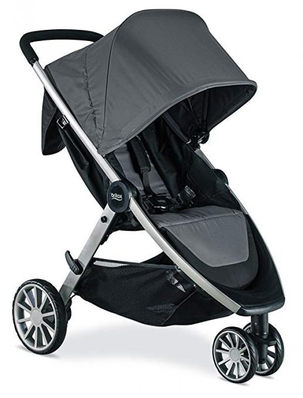 BabyQuip - Baby Equipment Rentals - Britax B-Lively Lightweight Stroller - Britax B-Lively Lightweight Stroller -