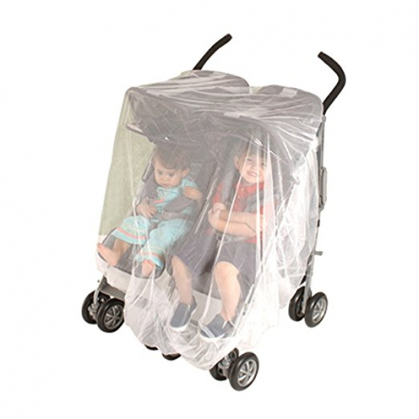 BabyQuip - Baby Equipment Rentals - Jeep Mosquito Net For Double and Tandem Strollers  - Jeep Mosquito Net For Double and Tandem Strollers  -