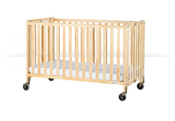 BabyQuip - Baby Equipment Rentals - Foundations Full Size Wooden Crib With Linens - Foundations Full Size Wooden Crib With Linens -