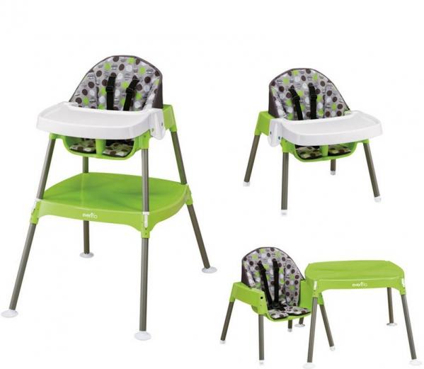 BabyQuip - Baby Equipment Rentals - Evenflo convertible high-chair - Evenflo convertible high-chair -