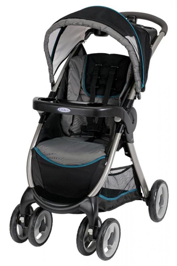 BabyQuip - Baby Equipment Rentals - Graco Fast Action Stroller - Graco Fast Action Stroller -