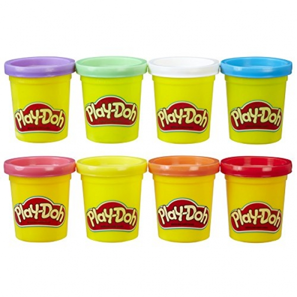 BabyQuip - Baby Equipment Rentals - Play Doh 8 Cans Standard Colors - Play Doh 8 Cans Standard Colors -