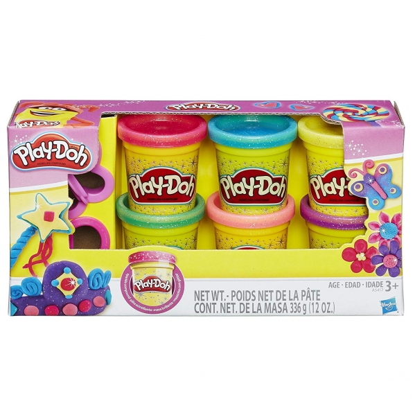 BabyQuip - Baby Equipment Rentals - Play Doh Glittery Collection - Play Doh Glittery Collection -
