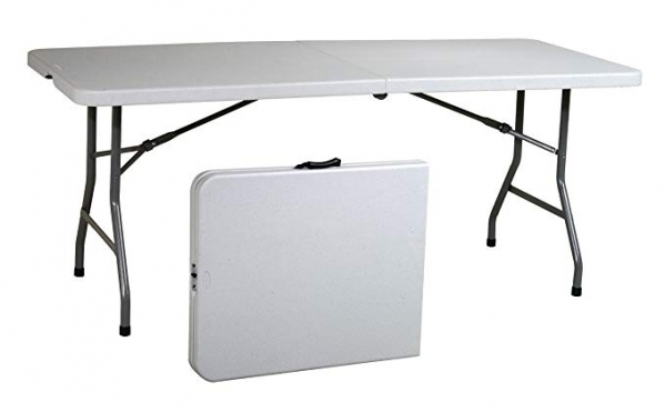 BabyQuip - Baby Equipment Rentals - Folding table 6 ft - Folding table 6 ft -