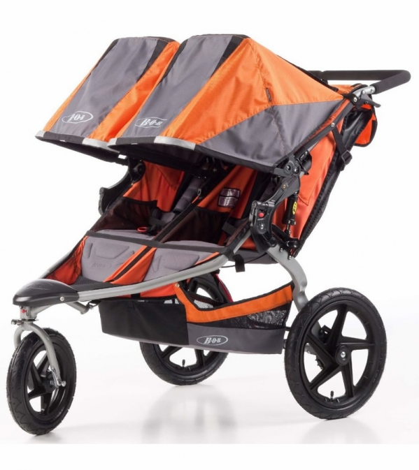 BabyQuip - Baby Equipment Rentals - BOB Double High End Jogging Stroller - BOB Double High End Jogging Stroller -