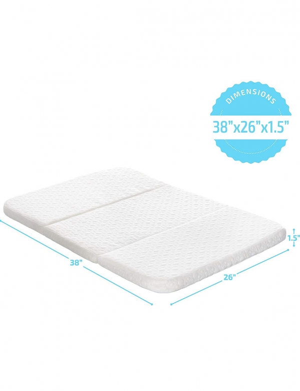 BabyQuip - Baby Equipment Rentals - Pack and play Mattress topper - Pack and play Mattress topper -