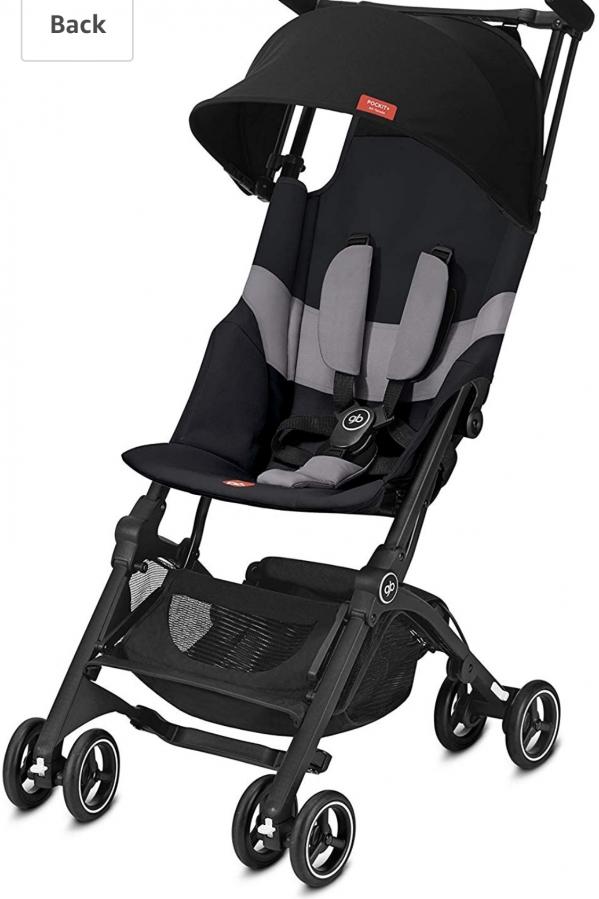 BabyQuip - Baby Equipment Rentals - GB Pockit+ stroller - GB Pockit+ stroller -