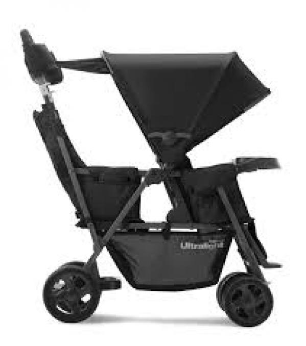 BabyQuip - Baby Equipment Rentals - Double Sit/Stand Stroller - Double Sit/Stand Stroller -