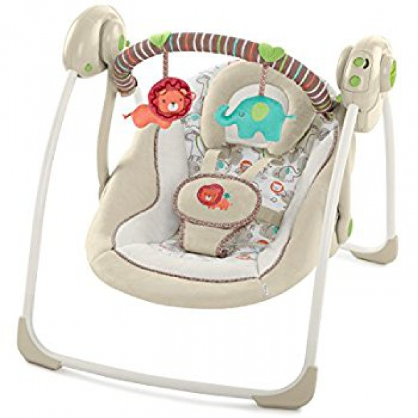 BabyQuip - Baby Equipment Rentals - Portable Swing + Batteries - Portable Swing + Batteries -