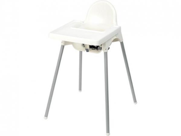 BabyQuip - Baby Equipment Rentals - Basic Full Size High Chair - Basic Full Size High Chair -