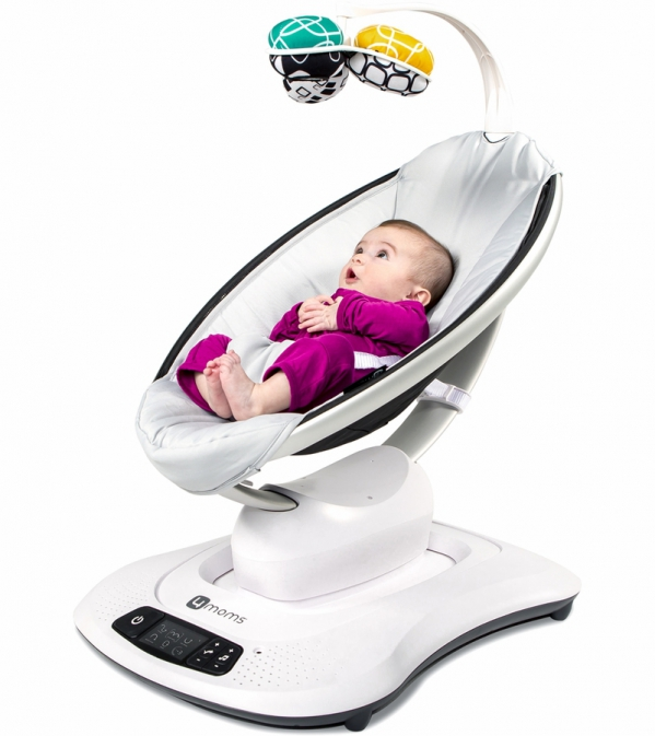 BabyQuip - Baby Equipment Rentals - Baby Swing/MamaRoo: 4moms - Baby Swing/MamaRoo: 4moms -