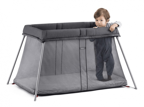 Luxury Travel Crib/Pack n Play: Babybjorn