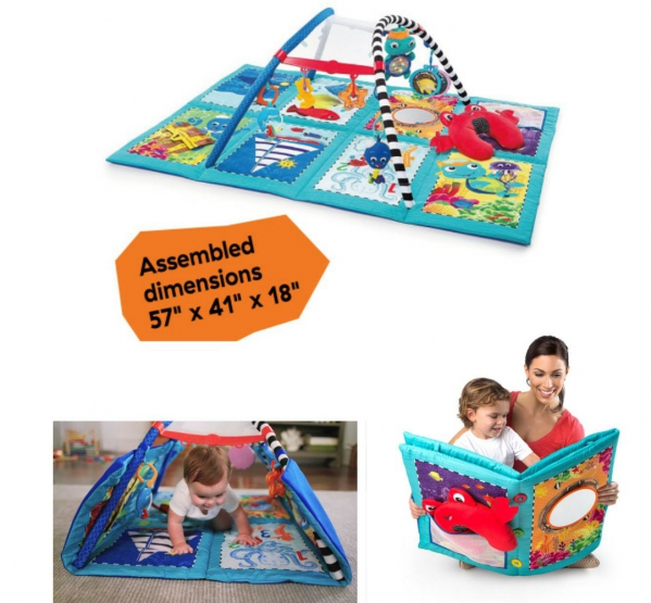 BabyQuip - Baby Equipment Rentals - Large Activity Mat - Large Activity Mat -