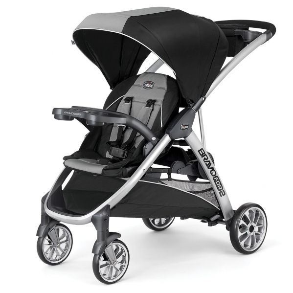 BabyQuip - Baby Equipment Rentals - Chicco Sit and Stand Double Stroller  - Chicco Sit and Stand Double Stroller  -