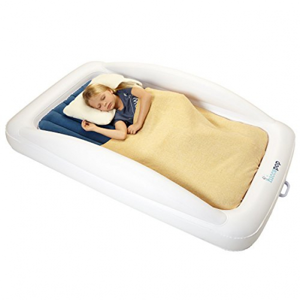 Inflatable Toddler Bed with Safety Bumpers