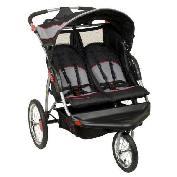 BabyQuip Baby Equipment Rentals - Baby Trend Double Jogger - Petra and Ben Davenport - Windham, New York